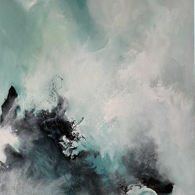 Dragon dans la brume
