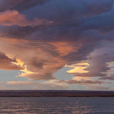 Turner en Alaska (lever de soleil)
