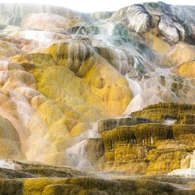Symphonie de couleurs volcaniques (Yellowstone)