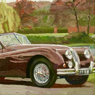 Jaguar en automne