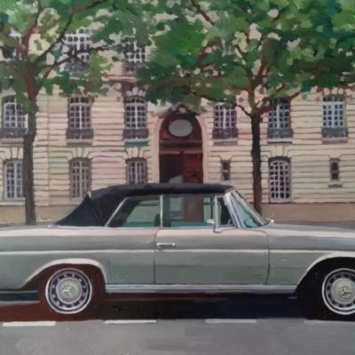 Mercedes à Paris