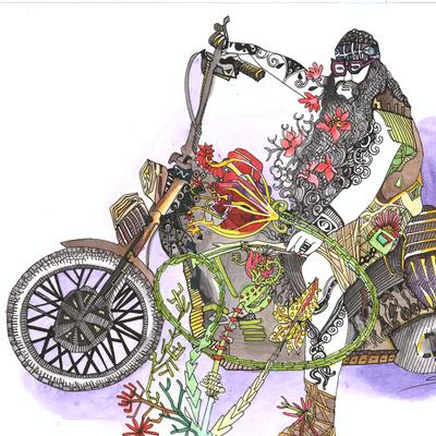 Biker hippie
